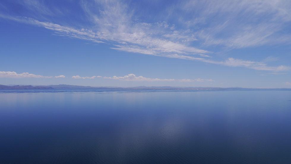 Lake Titicaca, Bolivia, seen from Isla del Sol