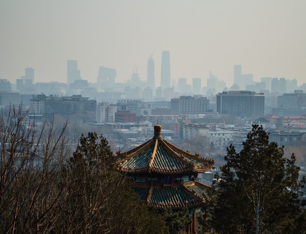 Jingshan Park, Beijing / China