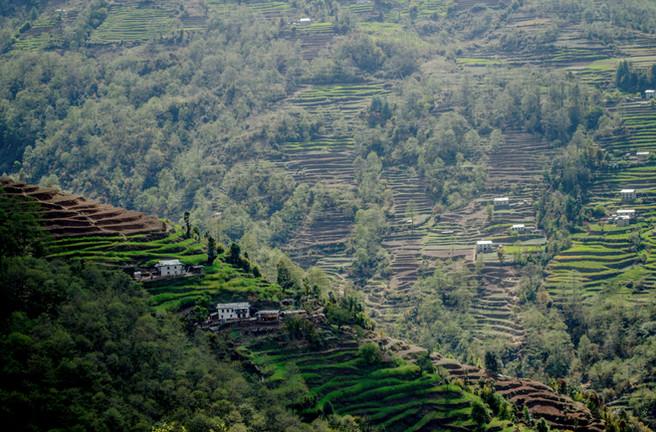 Shivalaya, Himalayas / Nepal