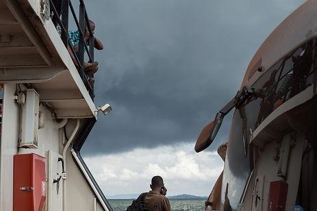 Ferry on Lake Victoria, Uganda