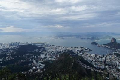 Corcovado hill, Rio de Janeiro / Brazil