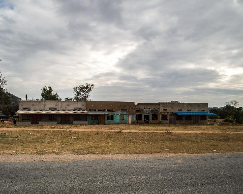 Empty stores in Zimbabwe