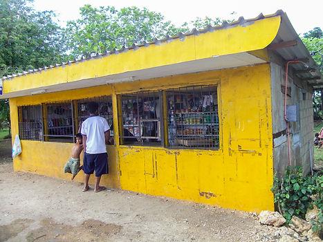 Store in the countryside of Tongatapu, Tonga