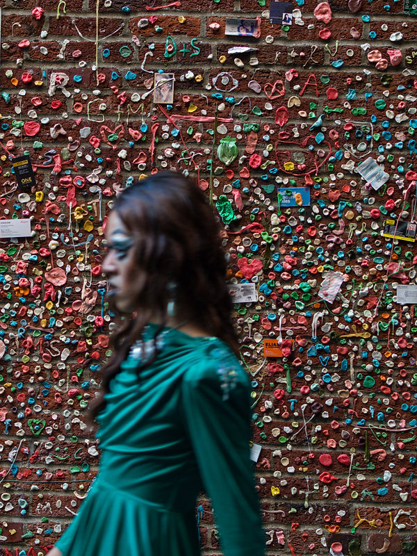 bubble gum wall in Seattle