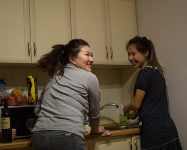 Aida & Ainam, Astana / Kazakhstan · 2018