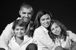 Sessão fotográfica em família.
