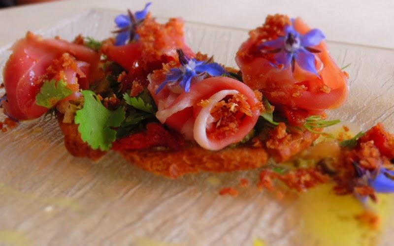 Bruschetta jambon de Vendée