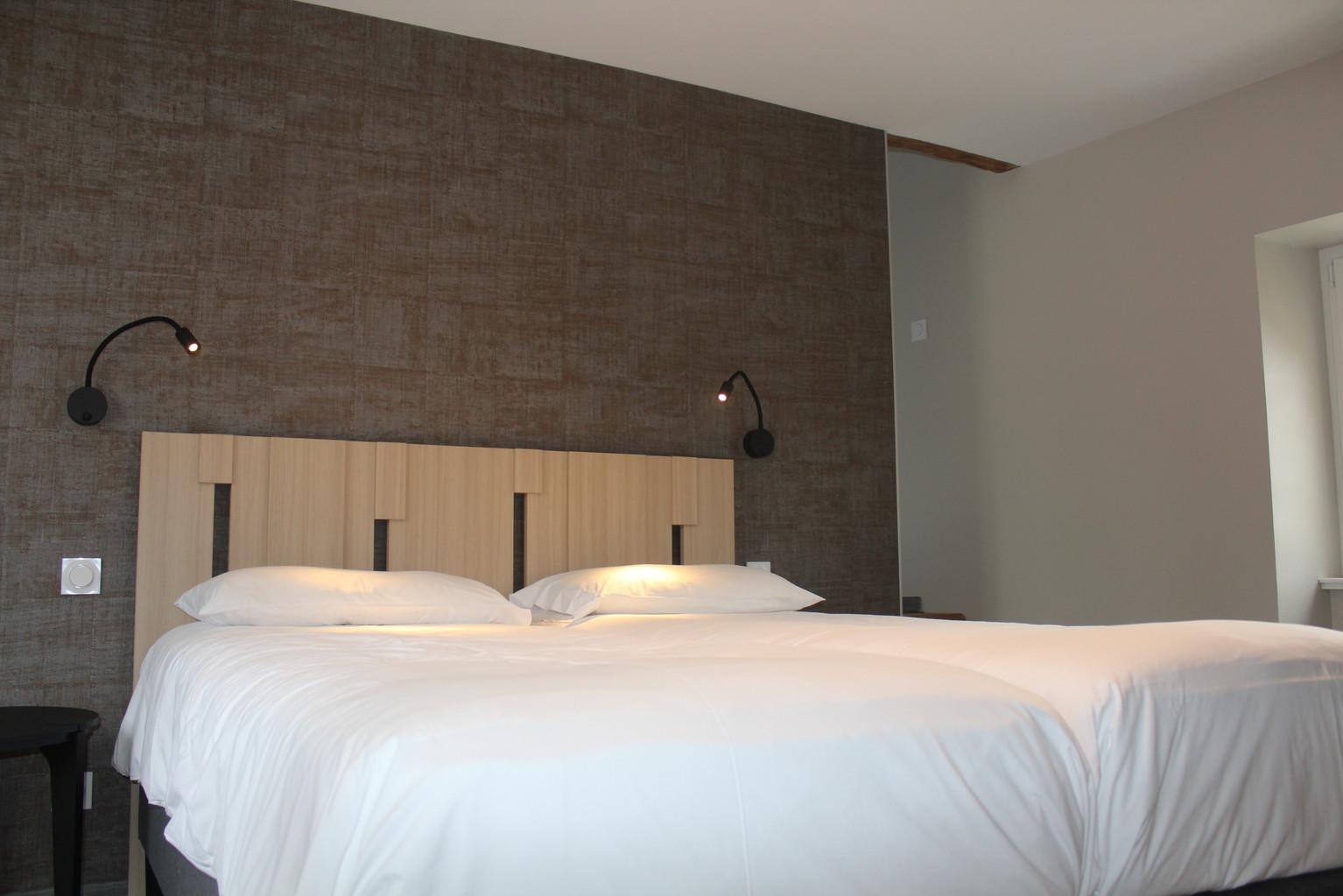 1ère chambre - lits jumeaux