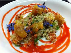 Salade de quinoa et coques