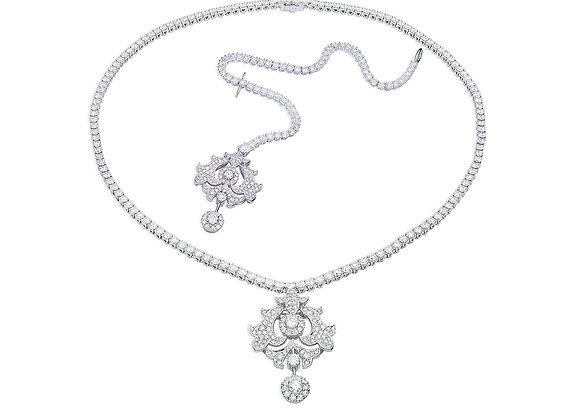 Capulet Necklace & Head Piece