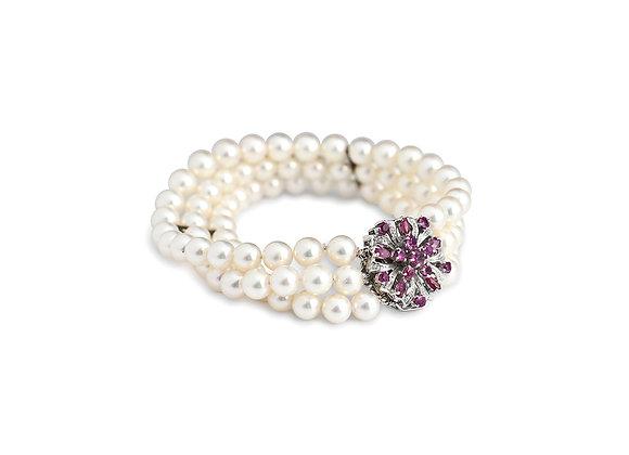 Octavia Pearl Bracelet