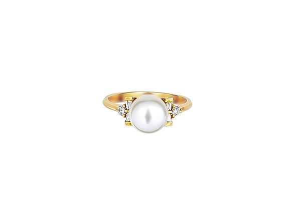 Brigitte Pearl Ring