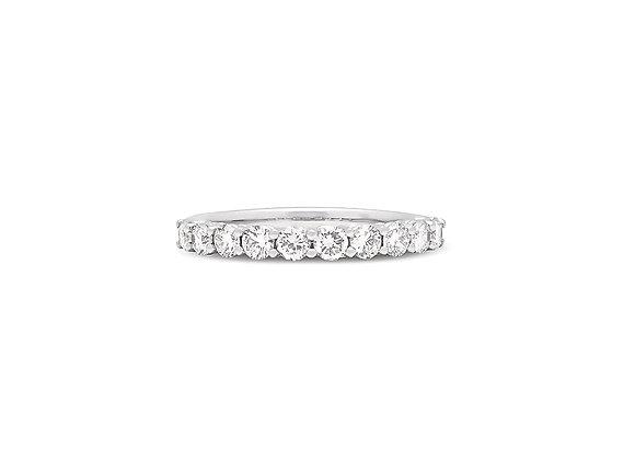 Eliesse Half Round Eternity Ring