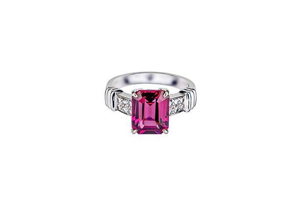 Harper Rhodolite Ring