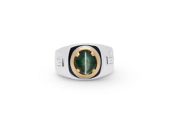 Alexandrite Cat's-Eye Ring