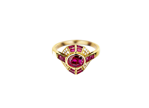 Chione Ruby Ring
