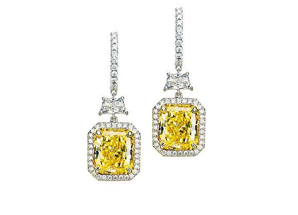 Lavinia Yellow Diamond Earrings