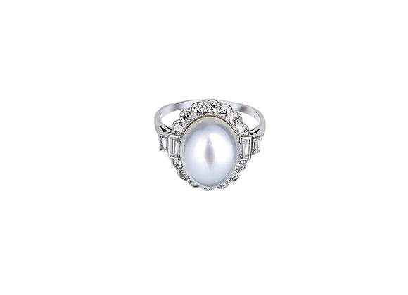 Elizabeth Pearl Ring
