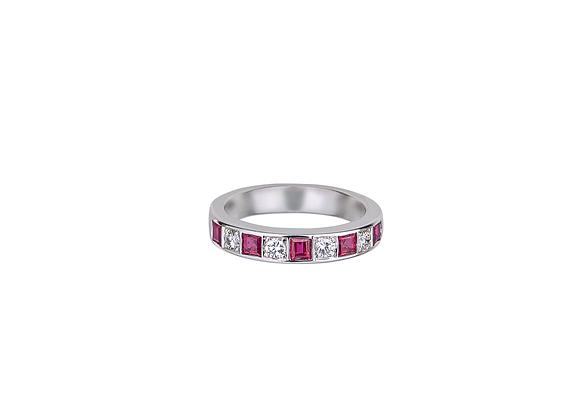Hayma Ruby Ring