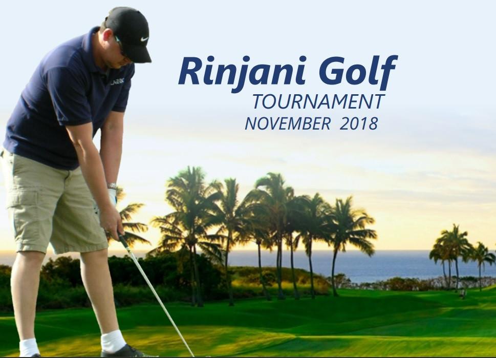 Rinjani Golf Tournament 2018