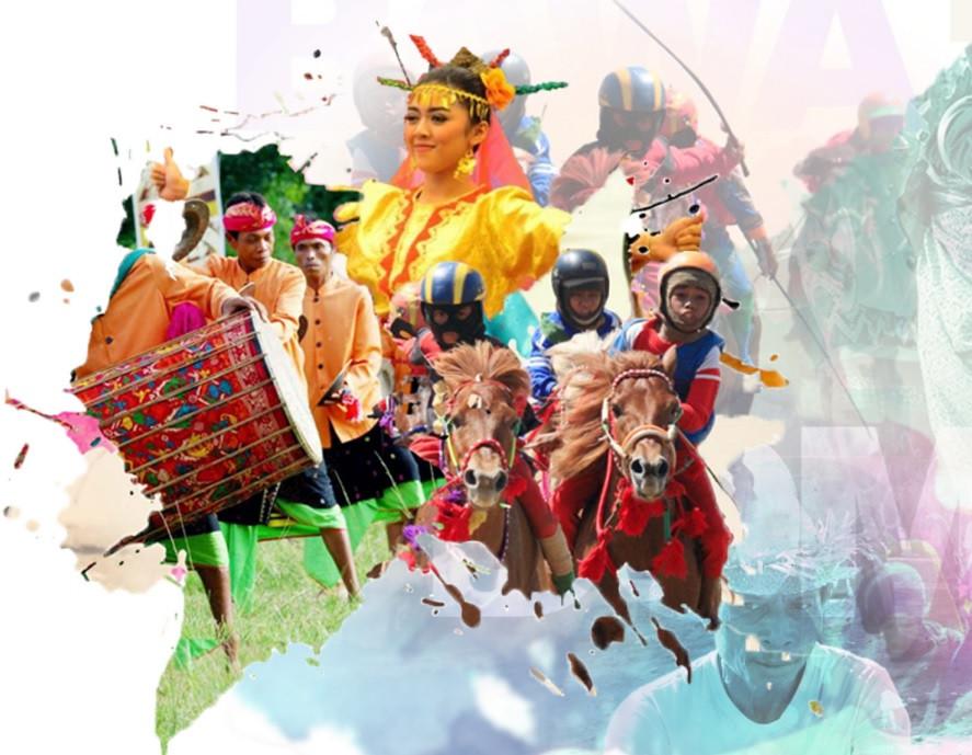 Bulan Pesina Lombok Sumbawa 2018