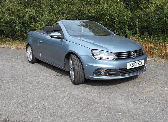VW Eos 2.0 TDi CR (140) Sport Bluemotion Tech Cabriolet 2dr