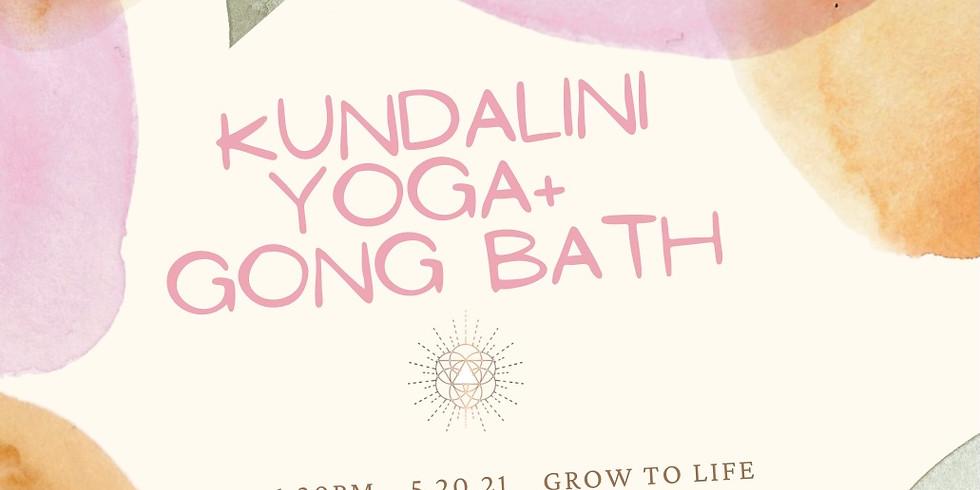 Kundalini Yoga for Connection + Gong Bath