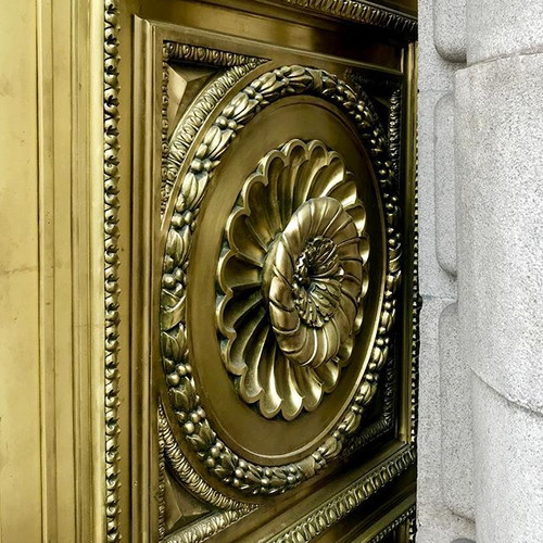 Brass Rosette 🔅 Madriz's Doors_#Ancient