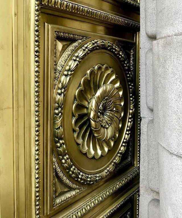 Brass Rosette 🔅 Madriz's Doors_#Ancient