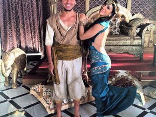 Ayoub (O2C) rejoins le tournage des nouvelles aventures d'Aladin 2 !!
