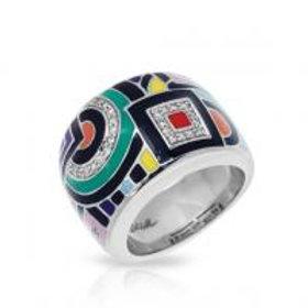 Geometrica Multicolor Ring