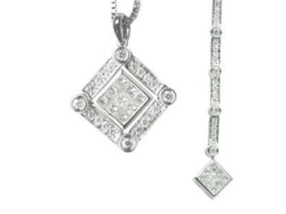 DIAMOND PRINCESS CUT CONVERTIBLE PDT