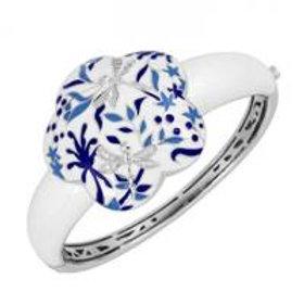 Porcelain Cobalt Bangle