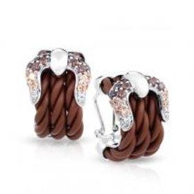 Lasso Brown Earrings