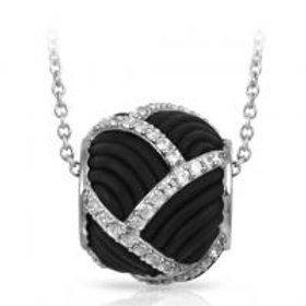 Striatta Black Pendant