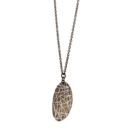 Small Bamboo Leaf Pendant