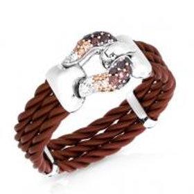 Lasso Brown Bracelet