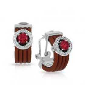 Circa Brown & Cherry Earrings