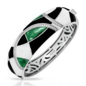 Tango Emerald Bangle-Featured