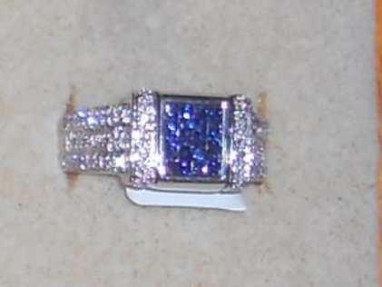 SAPPHIRE RING 14KT GOLD