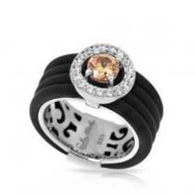 Circa Black & Champagne Ring