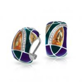 Tango Champagne Earrings