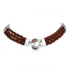 Lasso Brown Necklace