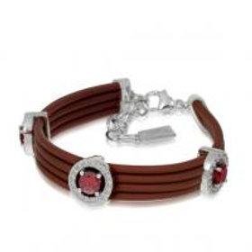 Circa Brown & Cherry Bracelet