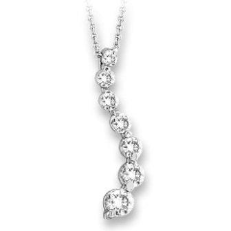 7 DIAMOND 'S JOURNEY ' PENDANT