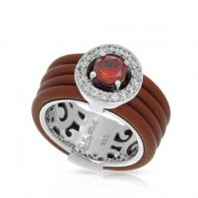 Circa Brown & Cherry Ring