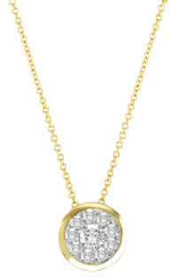 ROUND SHAPED CLUSTER PENDANT