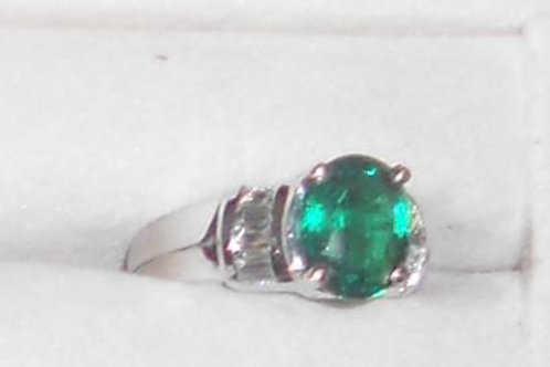 EMERALD RING 14KT GOLD