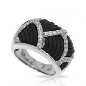 Striatta Black Ring