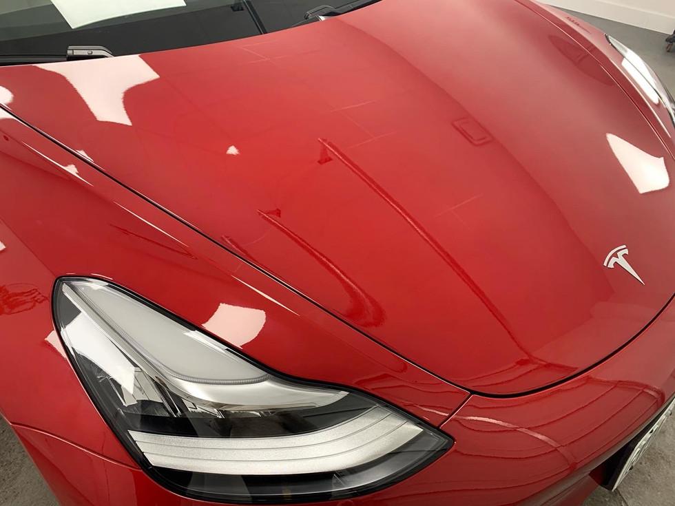 Tesla Paint Protection Film